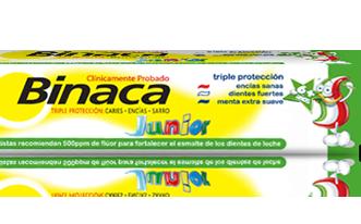 Un dentífrico especialmente formulado para los niños