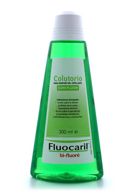 Fluocaril colutorio/enjuague bucal fluorado está recomendado en embarazadas
